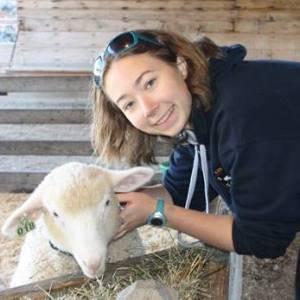 Megan and Sheep